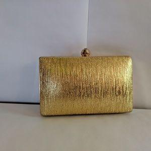 Gold Charming Charlie Wristlet